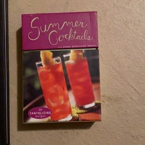 Other - Bundle Cocktail Books and Cards